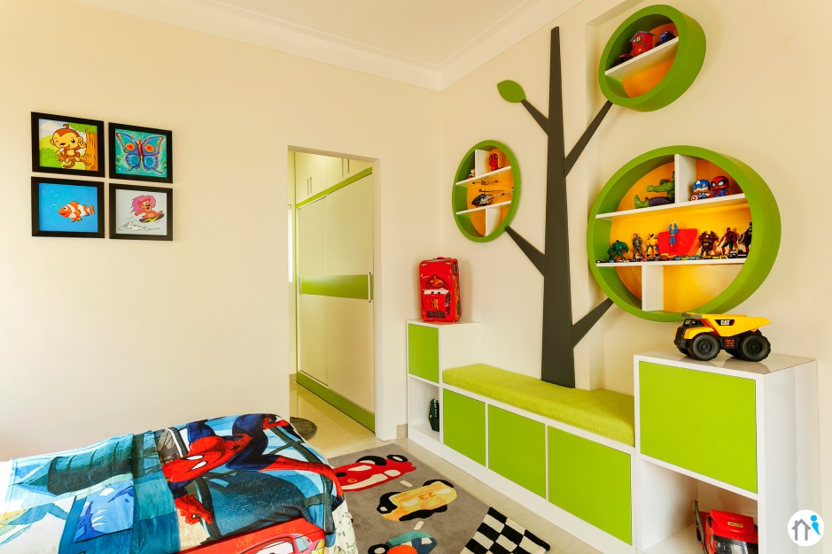 Child Bedroom - storage
